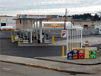 Propane Home Delivery and Olympia Fast Fuel Gas Stations